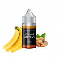 STEAMOK NUTTY PAPA SALT LİKİT 30ML/30MG
